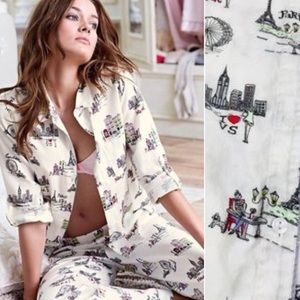 Victoria's Secret Flannel Pajamas